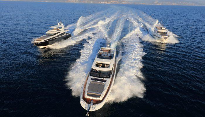 Prestige Yacht Range P630, P680S, P750. Prestige Jeanneau Händler in Deutschland