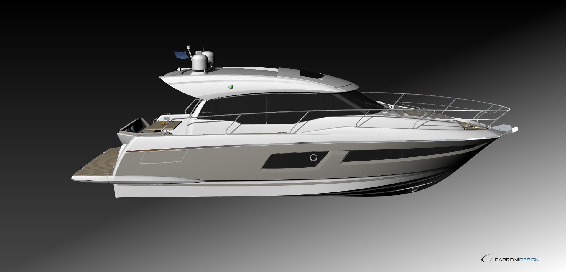 Prestige 460S Exterior
