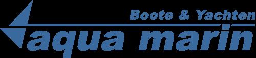 Logo aqua marin Boote und Yachten
