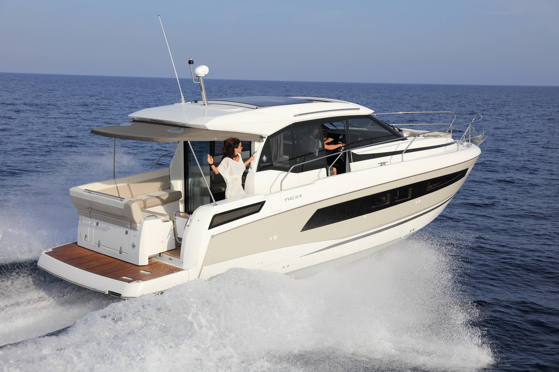Jeanneau NC 33 Boot Yacht Bild 2